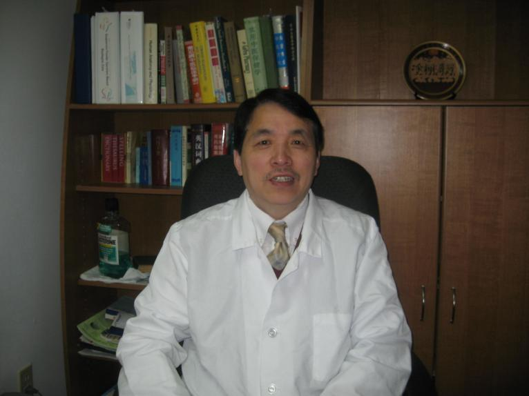 Dr. Jianguo Xu in his Office